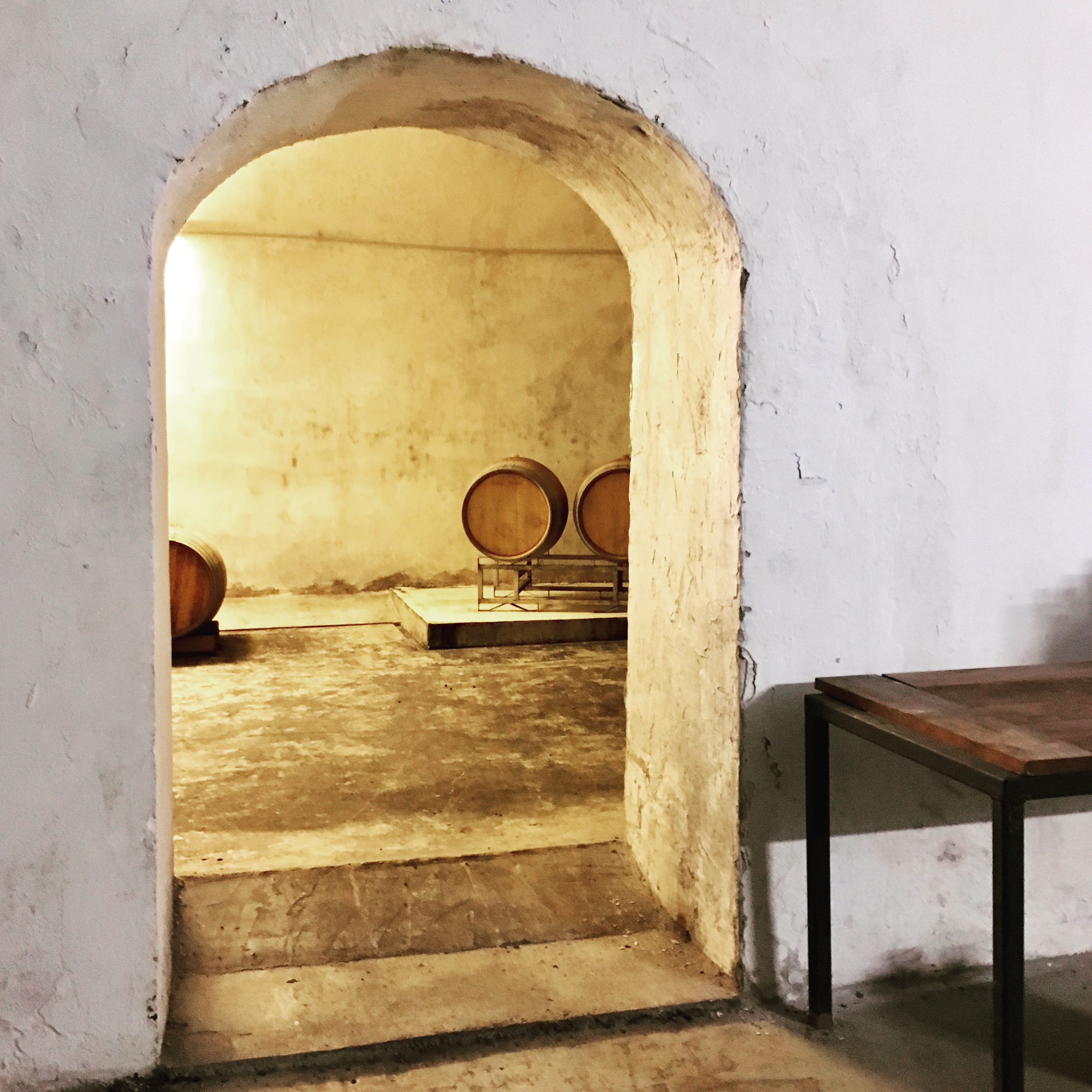 Water to Wine: The Cellar of Bacchus Speicher