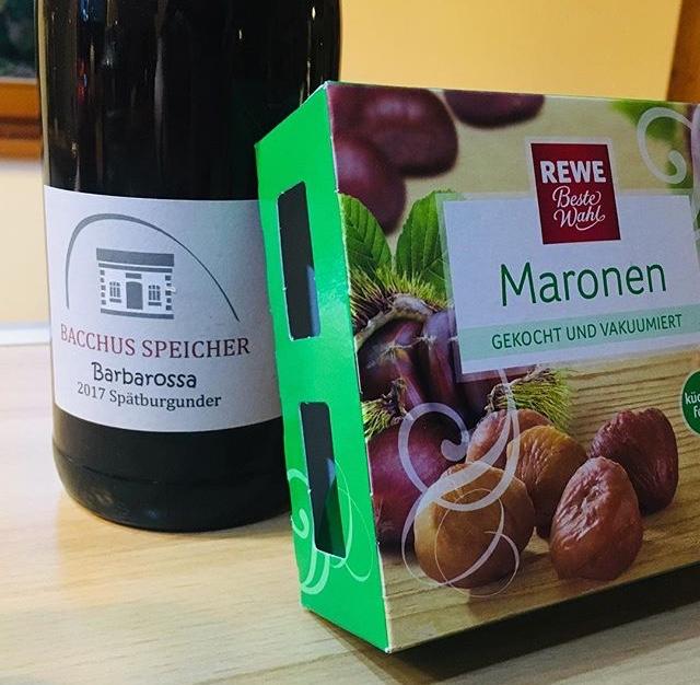 Maronen Suppe – Chestnut Soup